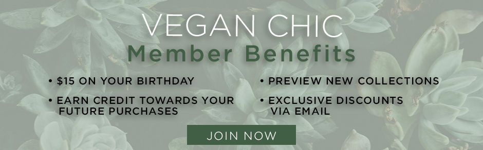 Vegan Chic Member Benefits