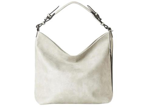a5c5c3d63cee Vegan Shoes   Bags  Hobo Bag with Side Zip by Jeane   Jax in Light Gray