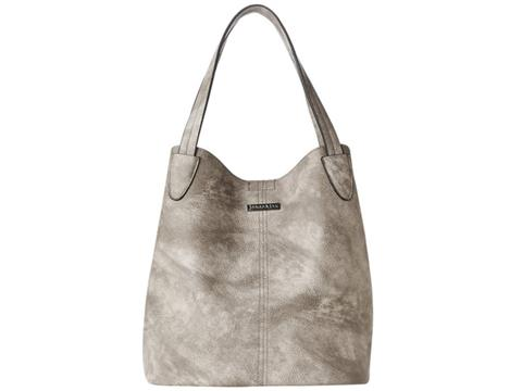 87755a560300 Vegan Shoes   Bags  2 in 1 Tote Bucket Bag by Jeane   Jax in Gray