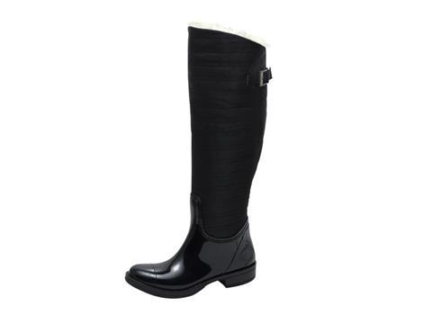 Vegan Shoes & Bags: Vegan Rain Boot with Faux Fur Lining
