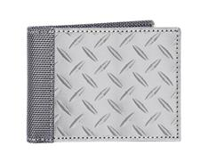 Slim Bill Fold Diamond Plate Wallet by Stewart/Sta