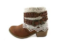 Crochet Bootie- Cash by Tigerbear Republik