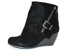 Bilocate Velvet Bootie by Blowfish