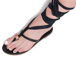 Night Heron Hand Crafted Sandal by Mink