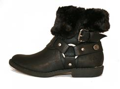 Afia Faux Shearling Bootie by Blowfish