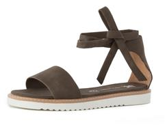 Take Your Pick Ankle Wrap Sandal by BC Footwearr