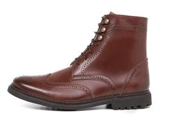 Men's Wingtip Boot by Ahimsa